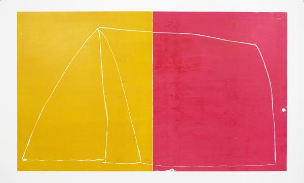 Andrea Büttner - 2 colour tent