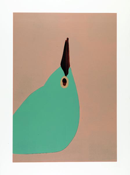 Gary Hume - Paradise Printing Four